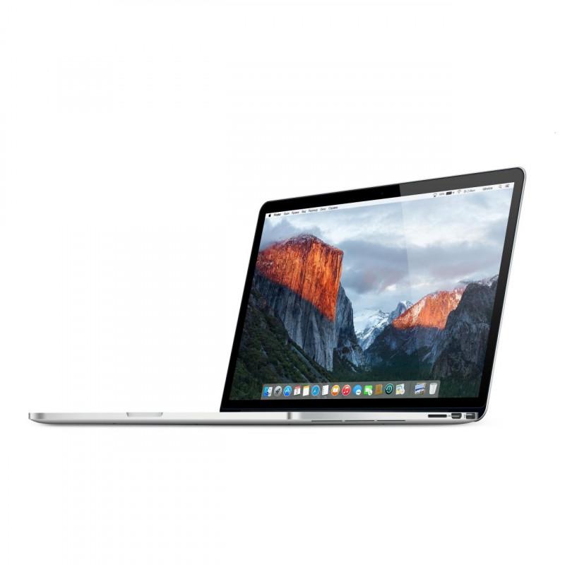 """Apple MacBook Pro A1398 i7-4750HQ 8GB OSX 15"""" 2880x1800 252GB SSD Klasa A"""