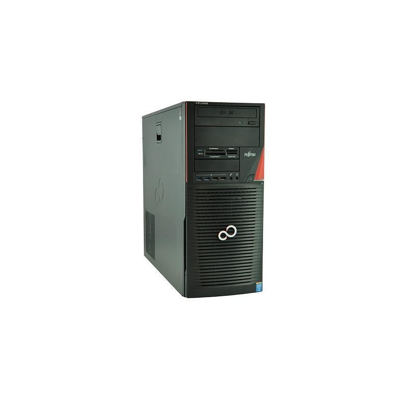 FS CELSIUS M730 Xeon-E5 1620 v2 12GB 7P 128GB SSD Klasa A