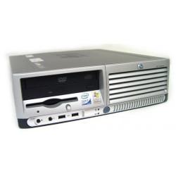 HP Compaq DC7700 C2D-E6300 2GB U Brak Dysku Klasa A