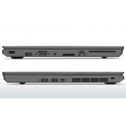 """LENOVO T550 i5-5300U 8GB 10P 15"""" 1920x1080 256GB SSD Klasa A"""