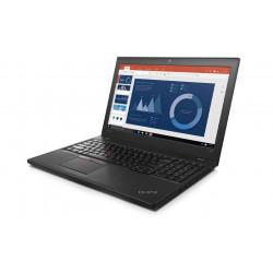 """LENOVO T560 i7-6600U 8GB 10P 15"""" 1366x768 180GB SSD Klasa A"""