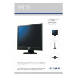 """HYUNDAI N91S 19"""" 1280x1024 Klasa B"""