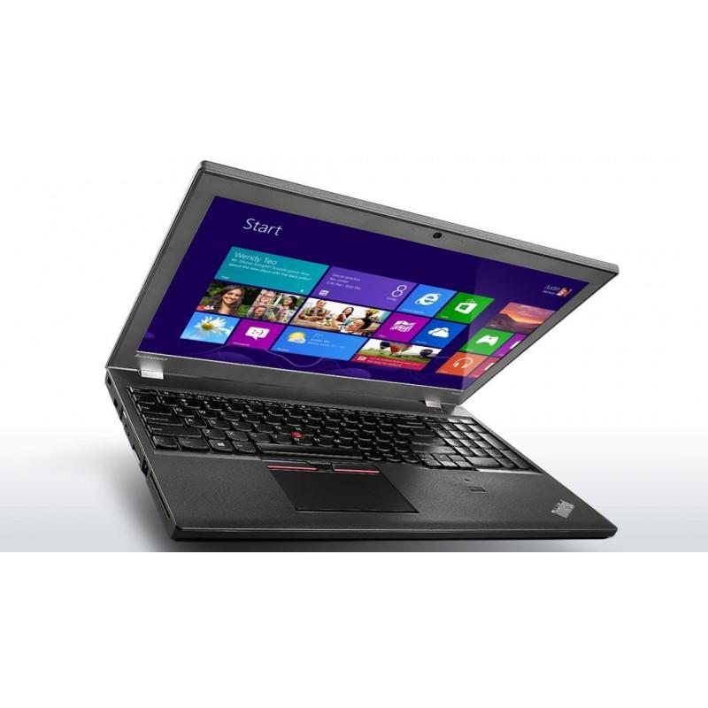 """LENOVO T550 i5-5300U 8GB 7P 15"""" 1366x768 128GB SSD Klasa A"""