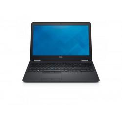 """DELL Latitude E5570 I7-6820HQ 16 GB 10P 15.5"""" 1920x1080 256 GB SSD Klasa A"""