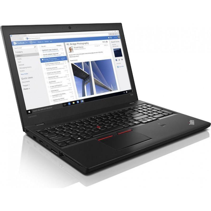"LENOVO ThinkPad T560 i5-6300U 8 GB 10P 15"" 1920x1080 Brak Dysku Klasa B"
