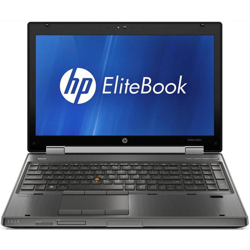 """HP EliteBook 8560W i7-2620M 4GB 7P 15"""" 1920x1080 320GB HDD"""
