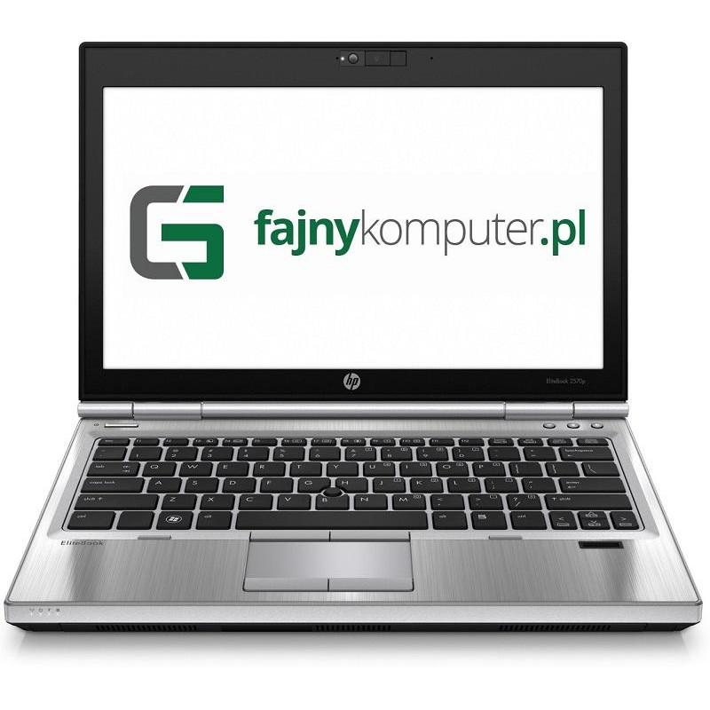 """HP EliteBook 2570P i5-3520M 4GB 7P 12"""" 1366x768 160GB HDD"""