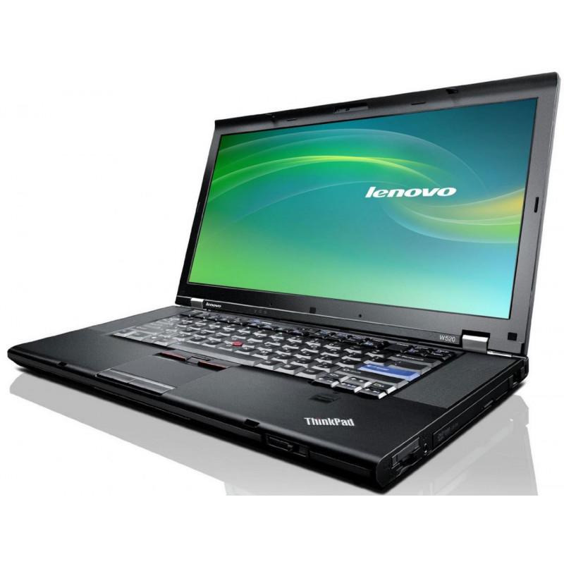 "LENOVO W520 i7-2720QM 4GB 7P 15"" 1920x1080 250GB HDD"