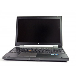 """HP EliteBook 8570W i5-3320M 4GB 7P 15"""" 1920x1080 320GB HDD"""