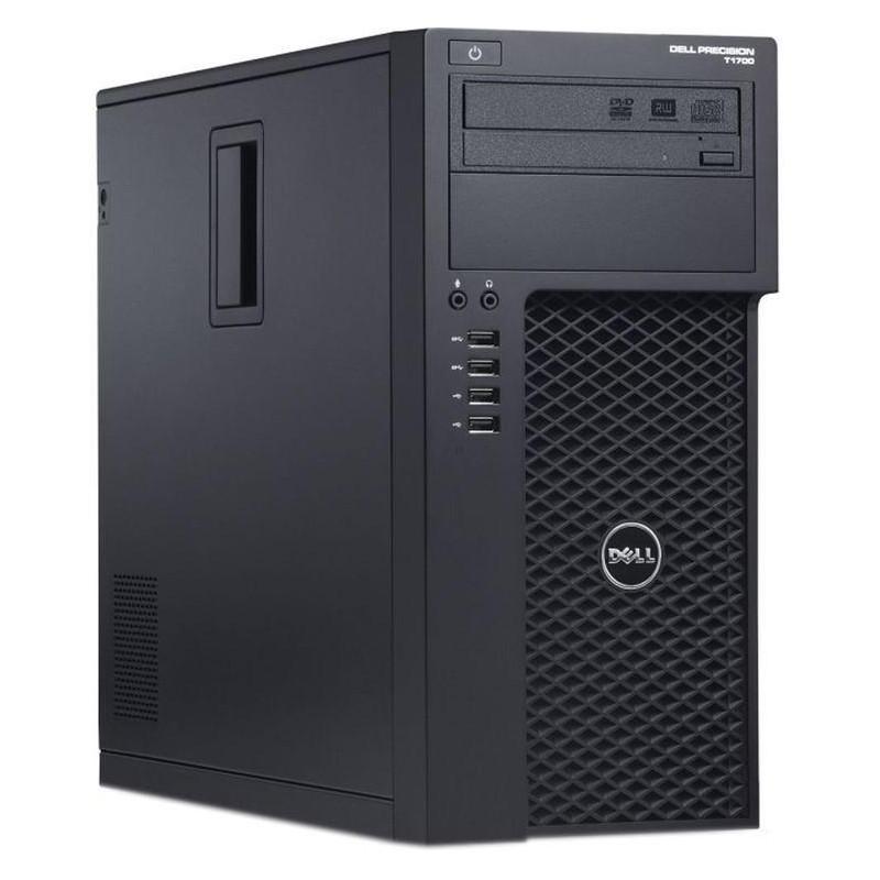 DELL Precision T1700 Xeon-E3 1270 v3 8GB 7P 256GB SSD Klasa A