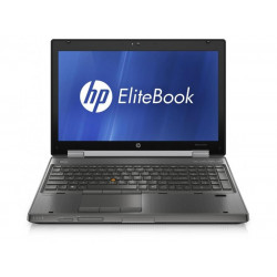 "HP EliteBook 8560W i7-2620M 4GB 7P 15"" 1920x1080 Brak Dysku"