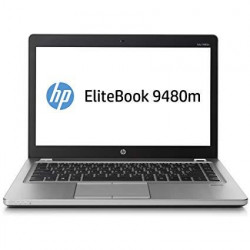 "HP EliteBook 9480M i5-4310U 8GB 10P 14"" 1600x900 160GB SSD"